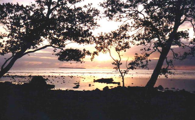 Lever de soleil sur le Pacifique