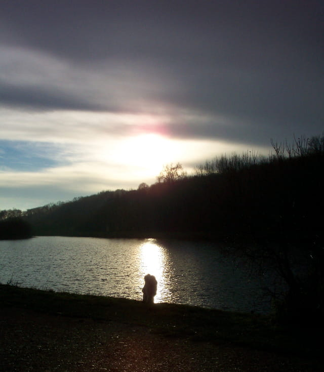 Lever du soleil un matin d'hiver