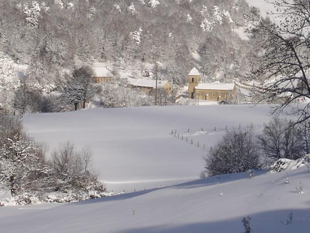 Leyssard sous la neige