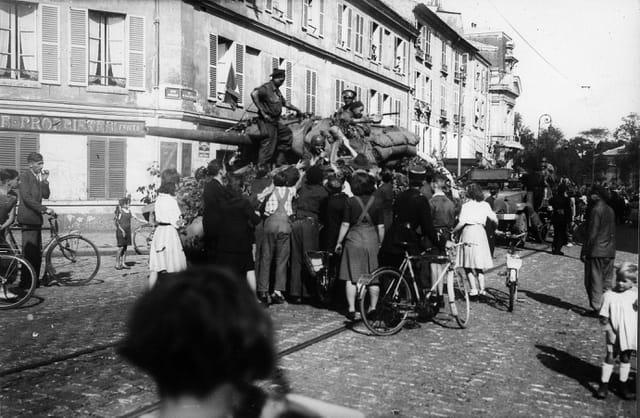 Libération de Versailles 24 Aout 1944