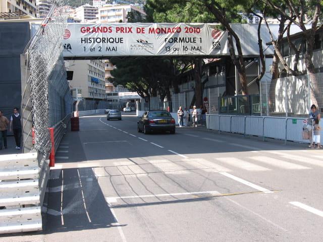 Ligne de départ et d'arrivée du Grand Prix de Formule 1