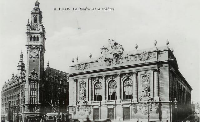 Lille, la Bourse et le Théâtre