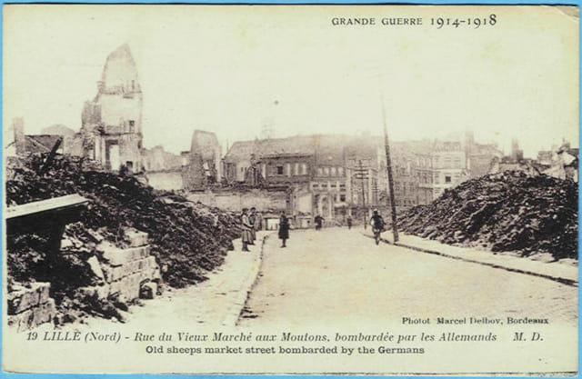 Lille - rue du Vieux-Marché-aux-Moutons