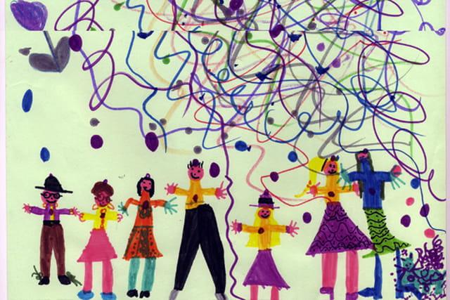 Lisa 6 ans la fête des enfants