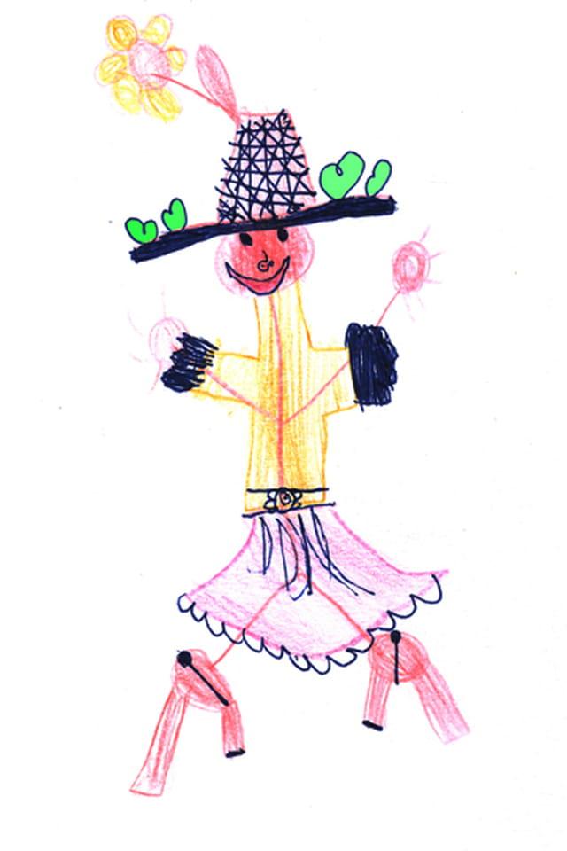 Lisa 6 ans la fête des kathérinette