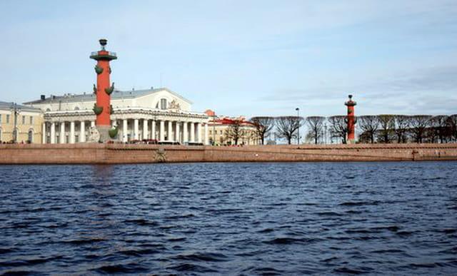 lles colonnes rostrales de Saint Peterbourg