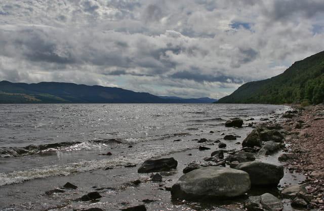 Loch Ness en été
