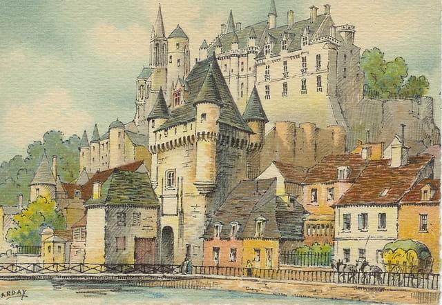 Loches, le château : la Porte des Cordeliers
