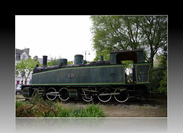 Locomotive Mallet à l'abandon....