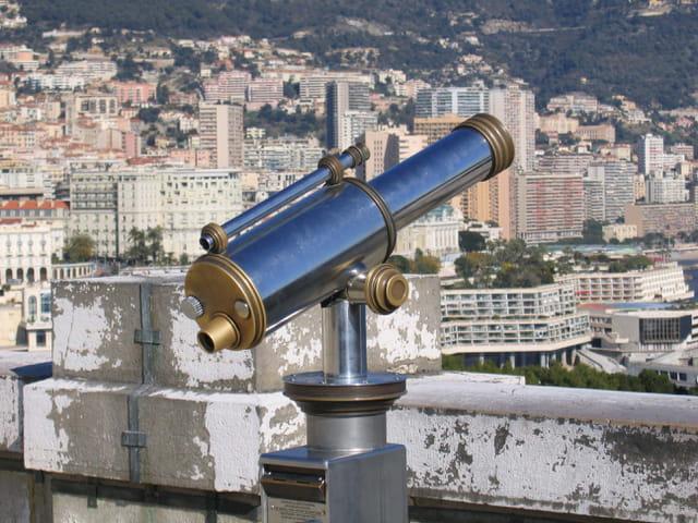 Longue vue sur Monaco