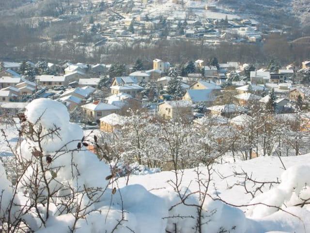 Longues sous la neige