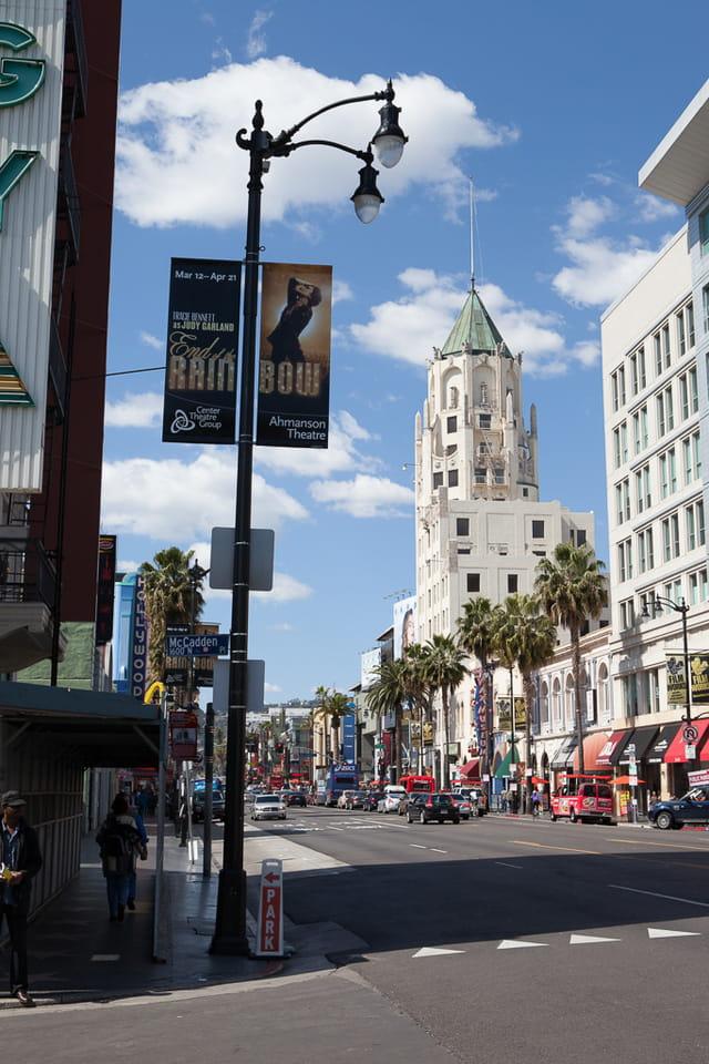 Los Angeles, Hollywood boulevard