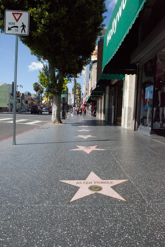 Los Angeles, Walk of fame