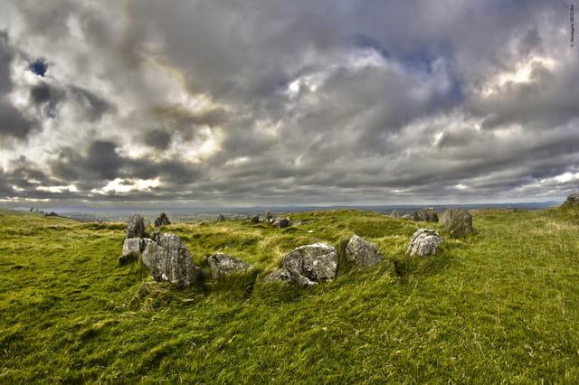 Loughcrew (Loch Craobh en irlandais) - 13 Septembre 2012