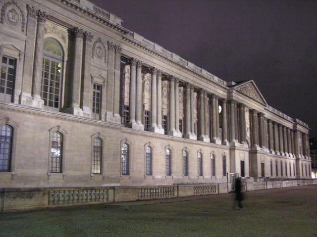Louvre : la colonnade de perrault