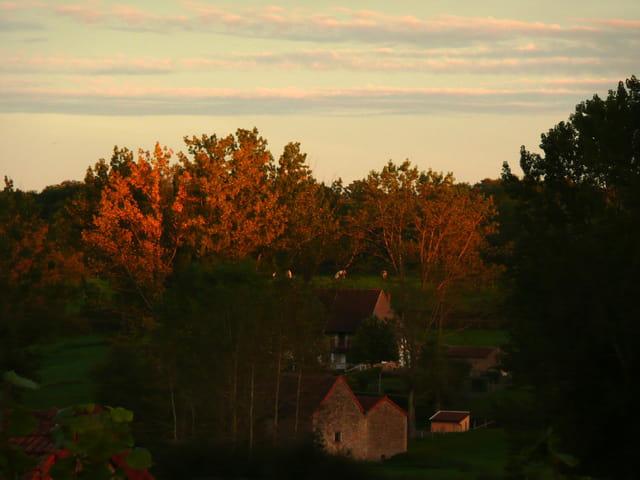 Lumière d'un soir d'automne