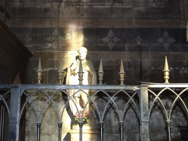 Lumière dans l église