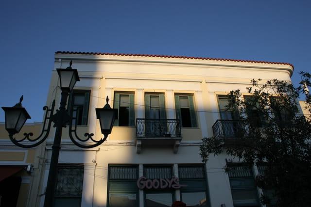 Lumière de fin journée en Grèce