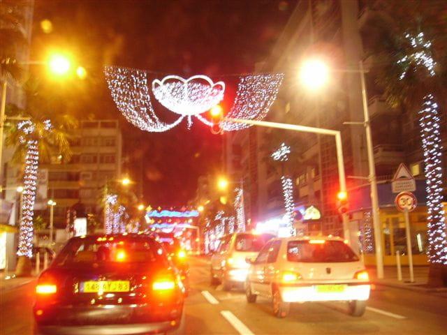 Lumière de la ville
