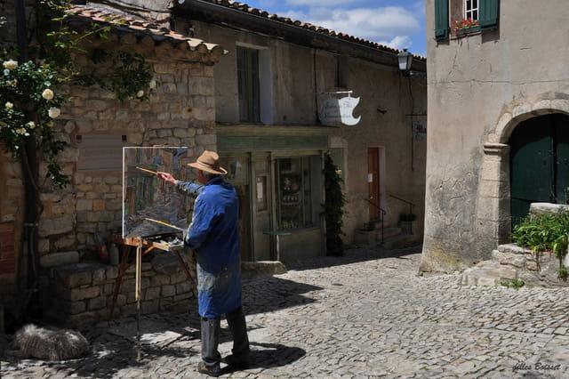 lumière de Provence, Séguret