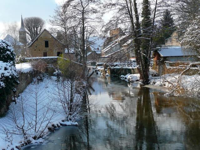 Lumière hivernale en Charolais