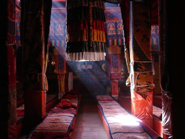Au monastère de Ganden