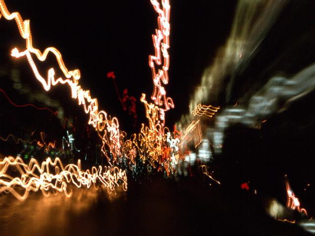 Lumières dans la ville