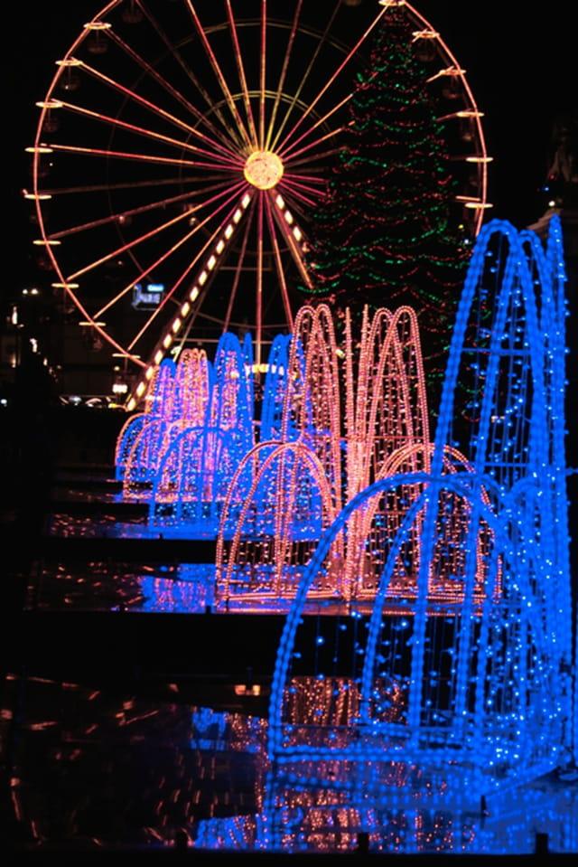 Lumières de noël 2006