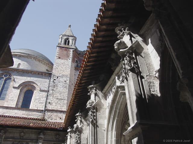 Lumières sur la cathédrale de Cahors