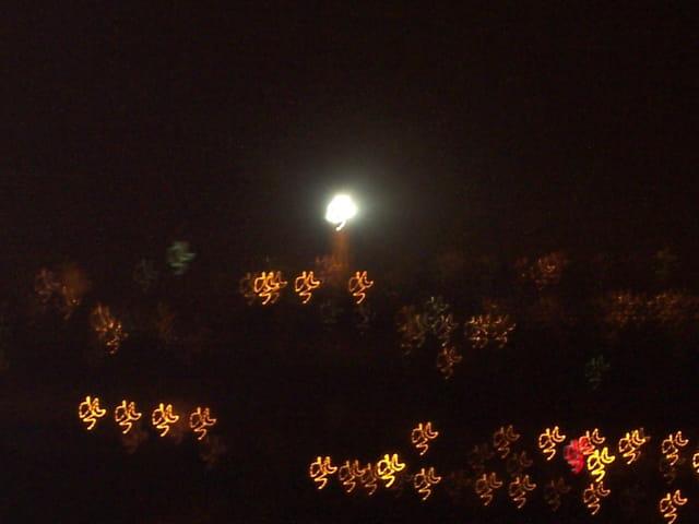 Lumières sur la ville...
