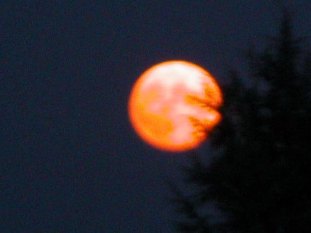 Lune en colère