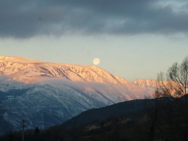 Lune et soleil