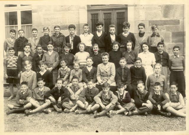 Lycée MATHY LUXEUIL 1950