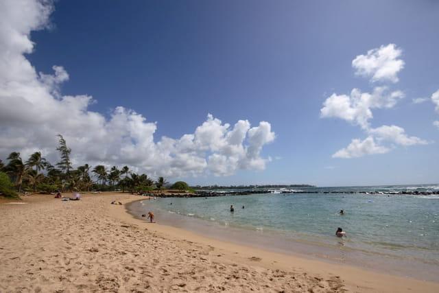Lydgate beach!