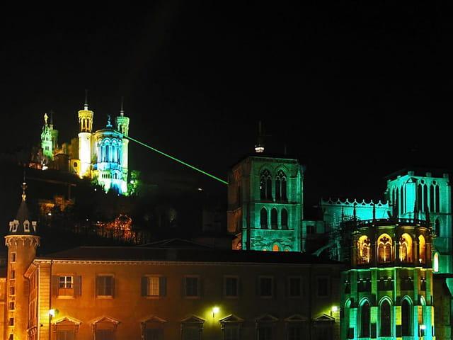 Lyon lumières fourvière