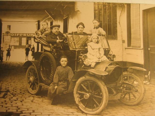 Ma famille en 1908