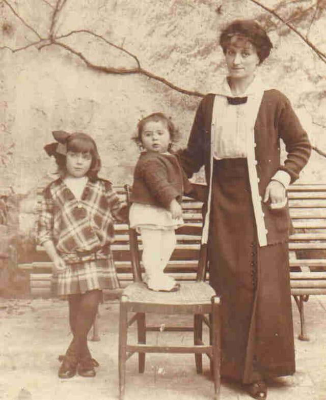 Ma gd-mère, ma mère & et son frère