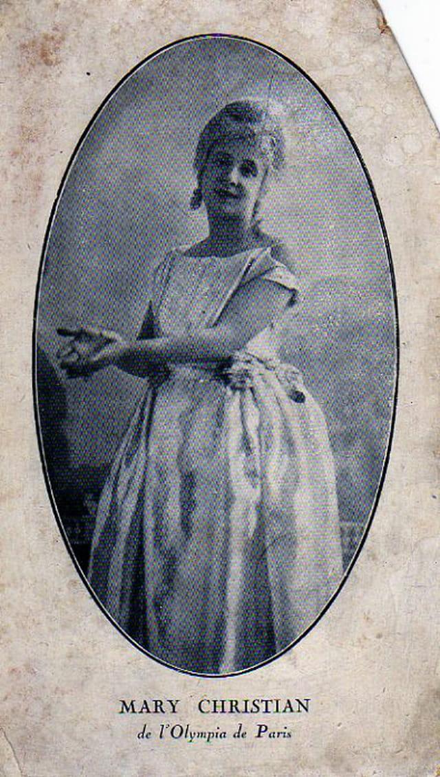 Ma grand-mère en 1916