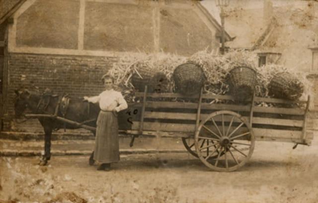 Ma Grand-Mère en 1918
