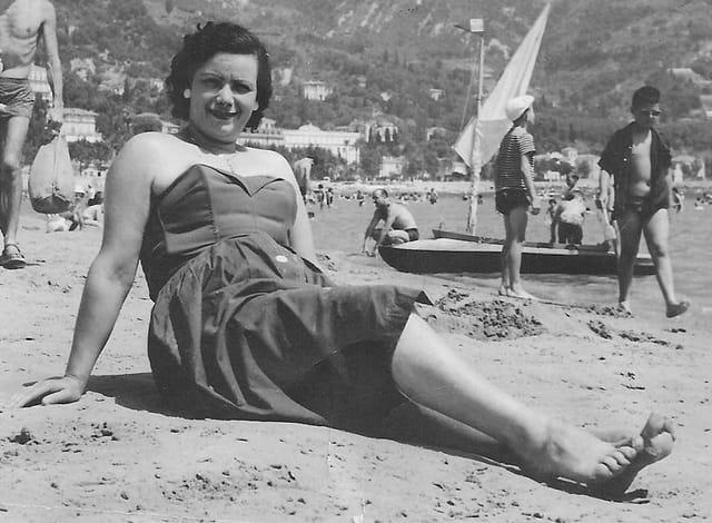 Ma mamie 1958