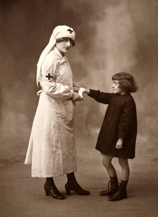 Ma mère petite fille, 1920