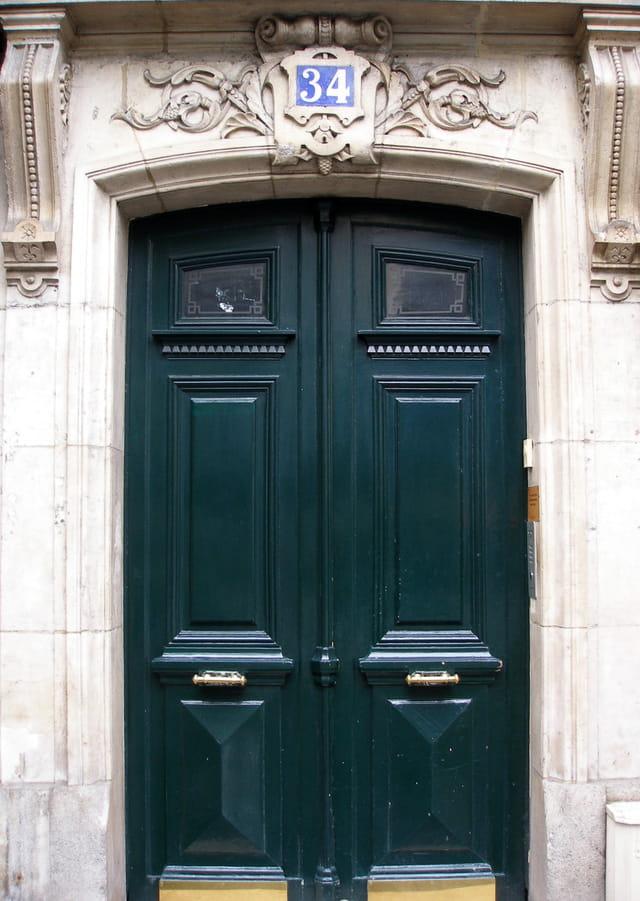 Ma passion des portes anciennes.
