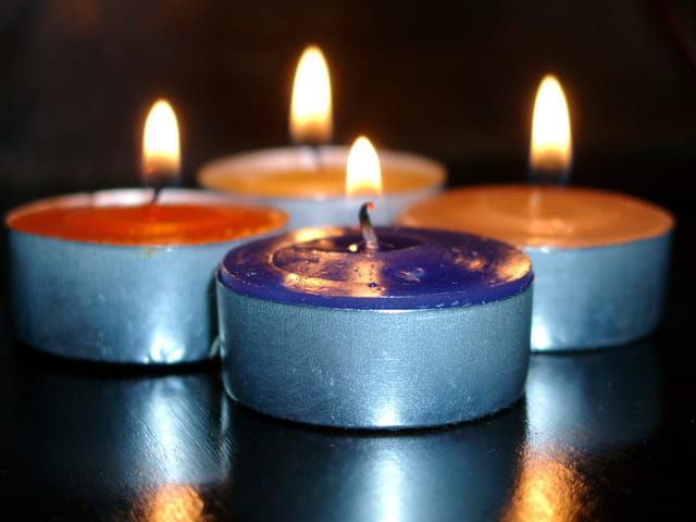 Macro bougies 1