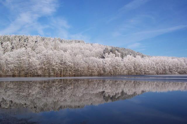 Magie d'hiver en morvan