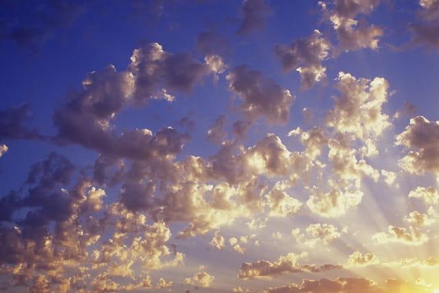 Magie du soleil levant