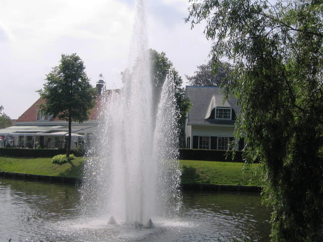 Magnifique jet d'eau