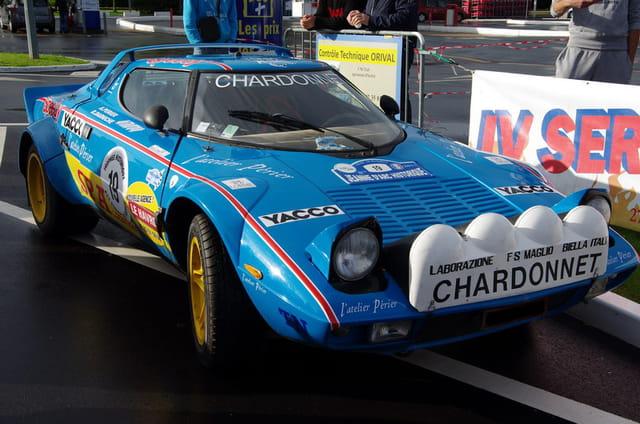 Magnifique Lancia Stratos