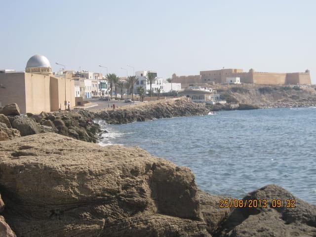 Mahdia de Tunisie:mosquée et fort histor