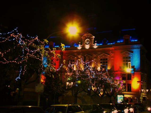 Mairie de TARBES - période de Noel.