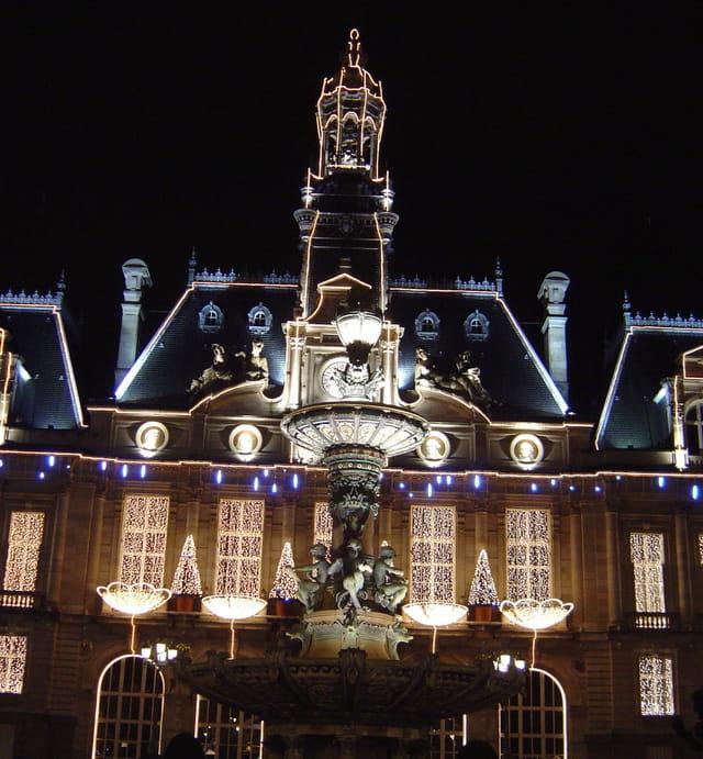 Mairie lumineuse
